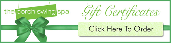 Banner_PorchSwingSpa_GiftCertificates